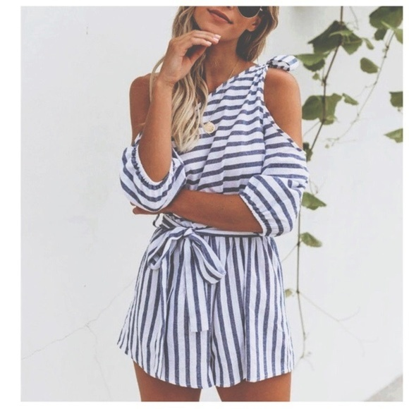 Other - closet clear-out 1 day sale❥loose fit beach romper